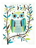 Night Owl II Giclée premium par Michael Mullan