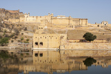Amer Fort and its Reflection in Water