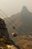 A Gondola Takes Passengers to the Top of Table Mountain