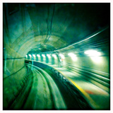 The Light Rail Tunnel at Dulles International Airport