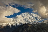 Clouds and Shadows on the North and South Summits of Mount Mckinley