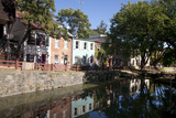The C&O Canal Towpath in Georgetown  District of Columbia