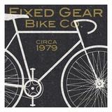 Fixed Gear Bike Co. Giclée premium par Michael Mullan