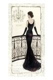 La Belle Noir Giclée premium par Emily Adams