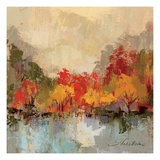 Fall Riverside II Giclée premium par Silvia Vassileva