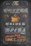 Coffee Menu I - Mini