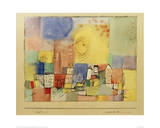 German City BR Giclée par Paul Klee