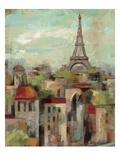 Spring in Paris II Giclée premium par Silvia Vassileva