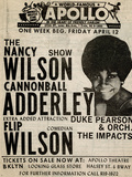 Apollo Theatre: Nancy Wilson  Cannonball Adderley  Duke Pearson  Flip Wilson  and The Impacts; 1968