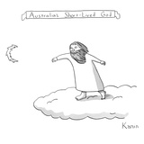 Australia's Short-Lived God - New Yorker Cartoon