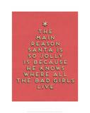 Santa is Jolly
