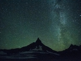 Night Sky over Glacier National Park  Montana