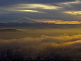 Mount Hood Sunrise from Portland