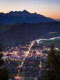 Overlooking Jackson  Wyoming