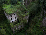 Sorrento  Italy: the Old Mill Located Near the Heart of Sorrento
