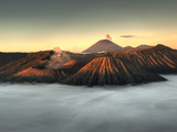 Bromo-Tengger-Semeru National Park on the Island of Java in Indonesia