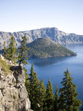 Scenic Image of Crater Lake National Park  Or
