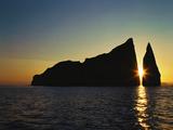 Dawn at Kicker Rock  Galapagos Islands