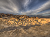 Sunrise at Zabriskie Point in California's Death Valley National Park