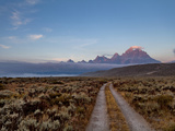 The River Road and Tetons on the Morning Light Grand Teton National Park  Wyoming