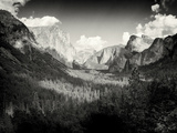 Yosemite Valley  California Shot in Color and Made B& W Using Silver Efex Pro