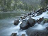 Scenic Image of Salmon River  Idaho