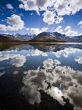 Reflections of Mt Tuni Condoriri in the Cordillera Real  Bolivi