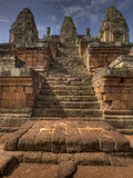 The Pre Rup Temple Located at Angkor in Cambodia