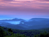 Sunrise on Grandfather Mountain