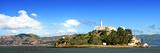Panoramic Landscape - Alcatraz Island - Prison - San Francisco - California - United States