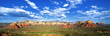 Panoramic Landscape - Thunder Mountains - Sedona - Arizona - United States