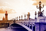 Alexander III Bridge view - Paris - France