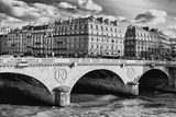 Saint Michel - Pont Neuf Bridge - Paris - France