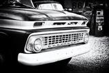 Ancienne Chevrolet Décapotable Sur La Route 66 III Papier Photo par Philippe Hugonnard