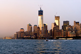 Landscapes - Sunset - Skylines - Mannattan - New York City - United States