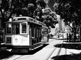 Cable Cars Street De Downtown De San Francisco II Papier Photo par Philippe Hugonnard