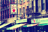 Advertising - La Mela - Little Italy - Manhattan - New York - United States