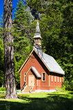 Chapel - 1879 - Yosemite National Park - Californie - United States