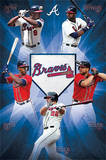 Atlanta Braves Team Baseball Poster