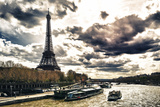 Eiffel Tower and the Seine River - Paris - France