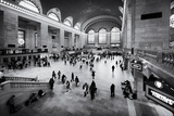 Grand Central Terminal - 42Nd Street - NYC Reproduction d'art par Philippe Hugonnard