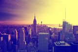 Empire State Building - Sunset - Manhattan - New York City - United States