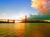 Sunset - Golden Gate Bridge - San Francisco - California - United States