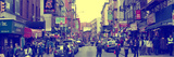 Panoramic - Urban Landscape - Little Italy - Manhattan - New York City - United States