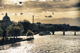 Sunset - Pont des Arts - Paris - France