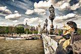 Grand Palais and The Seine River - Paris - France