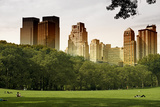 Central Park view - Manhattan - New York City - United States