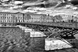 Le Pont des Arts and the Seine River - Paris - France