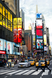 Pedestrian Crossing - Times Square - Manhattan - NYC - United States