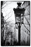 Parisian Street Lamps on a Staircase - Montmartre - Paris - France